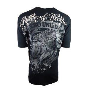 Ecko UNLTD MMA Black/Multi Rhino Graphic Tee 2XL